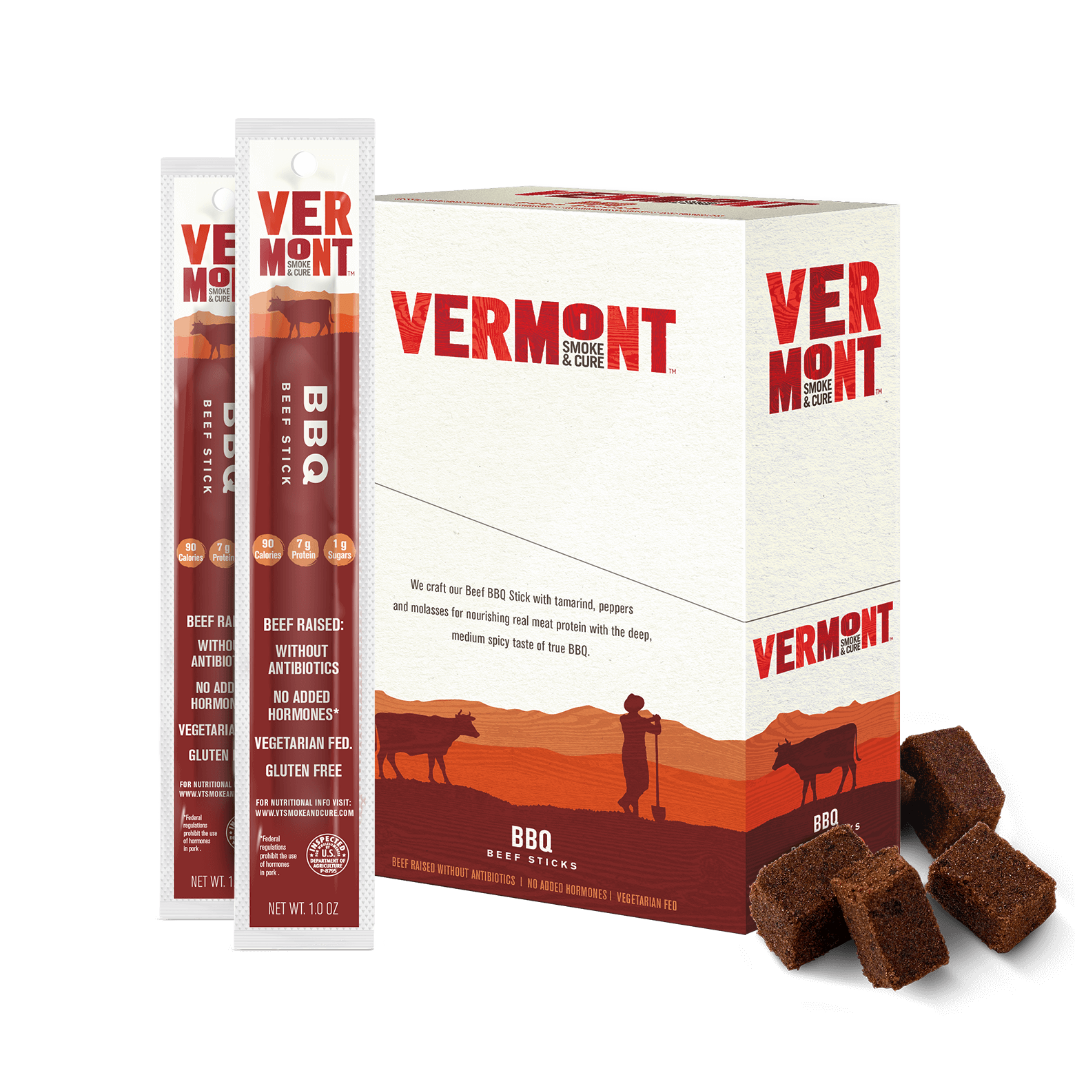 Bbq Beef Meat Sticks Vermont Smoke Amp Cure