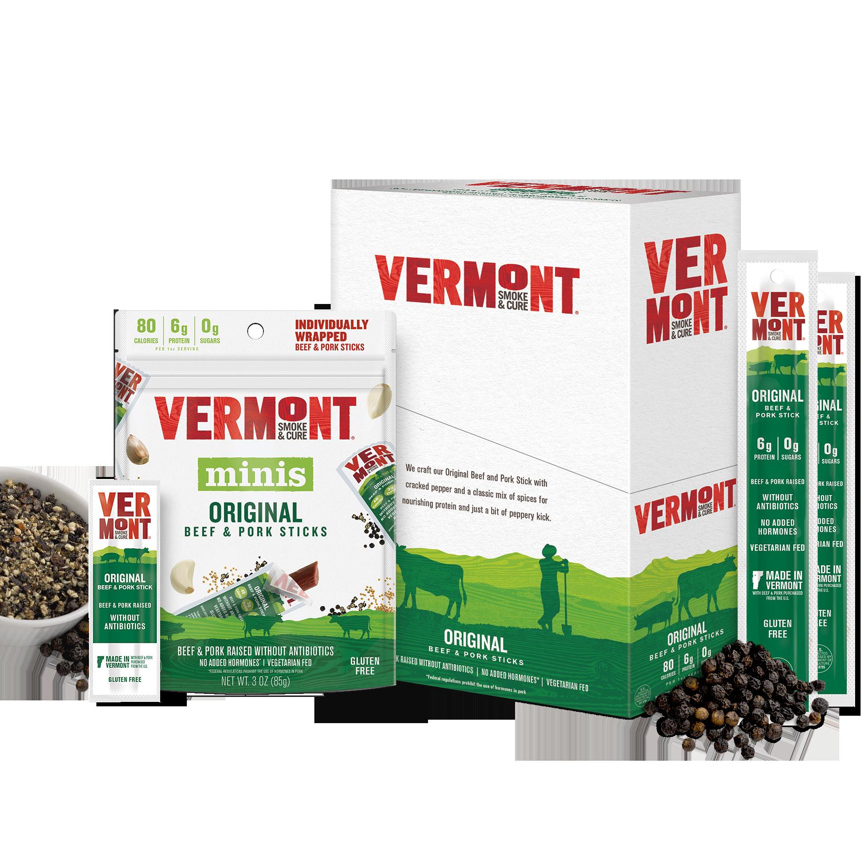 Original Beef Amp Pork Meat Sticks Vermont Smoke Amp Cure 174