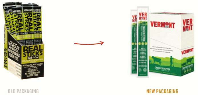 Vermont Smoke & Cure Real Sticks Meat Sticks