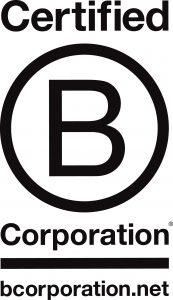 B-Corps Certified Logo