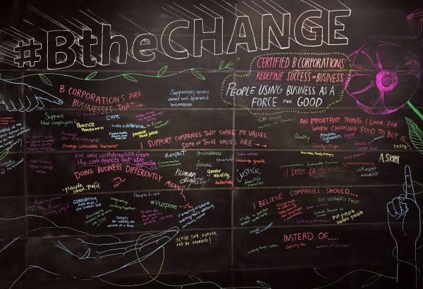 B-Corp Chalkboard