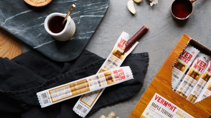 Vermont Smoke & Cure Grass-Fed Maple Teriyaki Beef Sticks